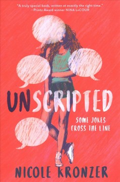 """Cover of """"Unscripted"""" by Nicole Kronzer"""