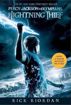 The Lightning Thief by Rick Riordan book cover