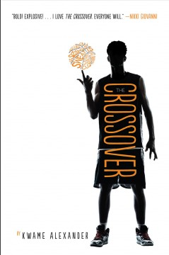 The Crossover by Kwame Alexander book cover