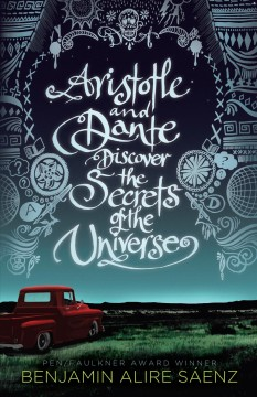 """Cover of """"Aristotle and Dante Discover the Secrets of the Universe"""""""