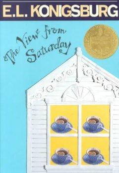 The View from Saturday by E.L. Konigsburg book cover.