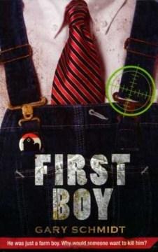 First Boy by Gary Schmidt book cover