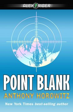 Point Blank by Anthony Horowitz book cover.