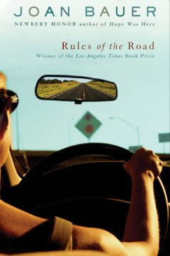 """""""Rules of the Road"""" by Joan Bauer book cover"""