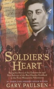 """Cover of """"Soldier's Heart"""""""