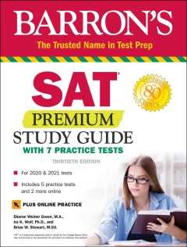 Barron's SAT : premium study guide