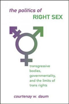 The-politics-of-right-sex-:-transgressive-bodies,-governmentality,-and-the-limits-of-trans-rights-/-Courtenay-W.-Daum.