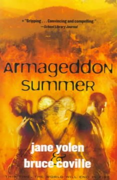 Armageddon Summer by Jane Yolen and Bruce Coville book cover.