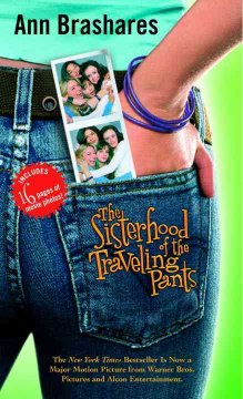 The SIsterhood of the Traveling Pants by Ann Brashares book cover.