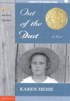 """Cover of """"Out of the Dust"""""""
