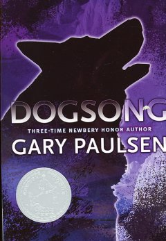 Dogsong by Gary Paulsen book cover.