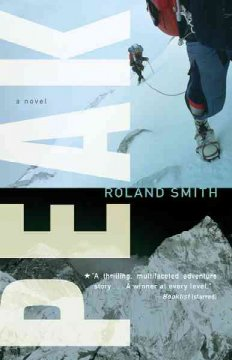 Peak by Roland Smith book cover.