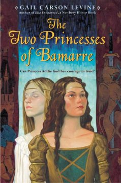 The Two Princesses of Bamarre book cover.