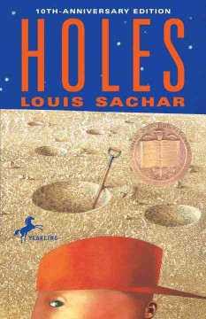 Holes by Louis Sachar book cover.