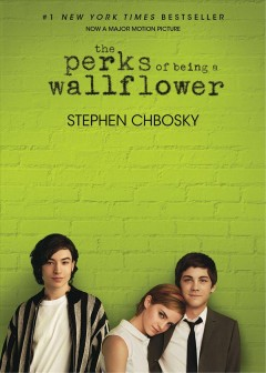 """""""The Perks of Being a Wallflower"""" by Stephen Chbosky book cover"""