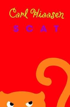 Scat by Carl Hiaasen book cover