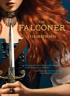 The Falconer by Elizabeth May book cover