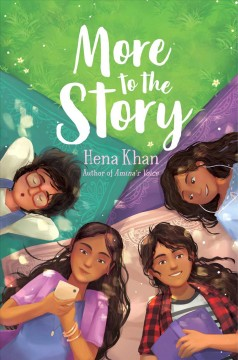 More-to-the-story-/-Hena-Khan,-author-of-Amina's-voice.
