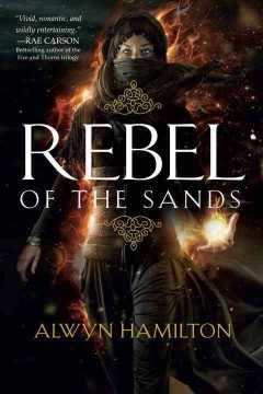 Rebel on the Sands by Alwyn Hamilton book cover