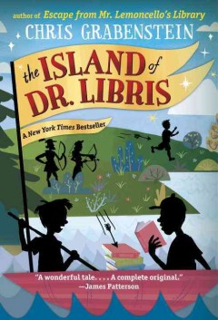 The Island of Dr. Libris by Chris Grabenstein book cover