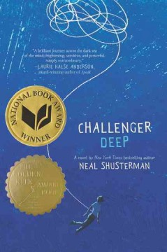 """Cover of """"Challenger Deep"""""""