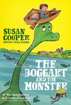 The Boggart and the monster by Susan Cooper book cover.
