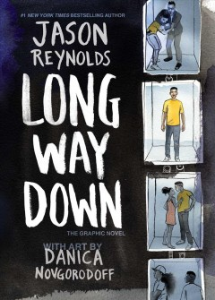 Long-way-down-:-the-graphic-novel-/-Jason-Reynolds-;-with-art-by-Danica-Novgorodoff.