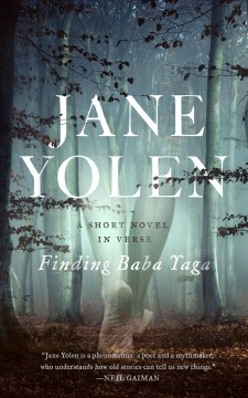 """""""Finding Baby Yaga"""" by Jane Yolen book cover"""