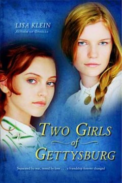 """Cover of """"Two Girls of Gettysburg"""""""