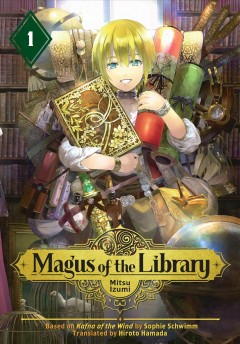 Magus of the library. 1 image cover