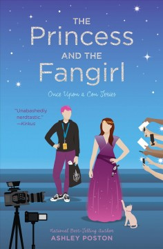 """Cover of """"The Princess and the Fangirl"""""""