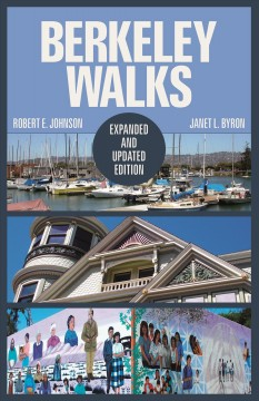 "Book jacket cover art for the book ""Berkeley Walks"""