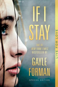 """""""If I Stay"""" by Gayle Forman book cover"""