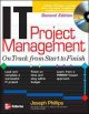 Readings in information technology project management.