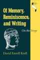 Critical Advances in Reminiscence Work. [electronic resource]: From Theory to Application.