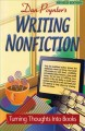 Writing nonfiction. [electronic resource] : turning thoughts into books.