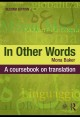 Translation and conflict : a narrative account.