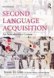 First language acquisition.