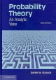 Probability theory. [electronic resource] : a first course in probability theory and statistics.