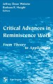 Reminiscence and life story work. [electronic resource] : a practice guide.