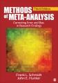Meta-analysis : cumulating research findings across studies.