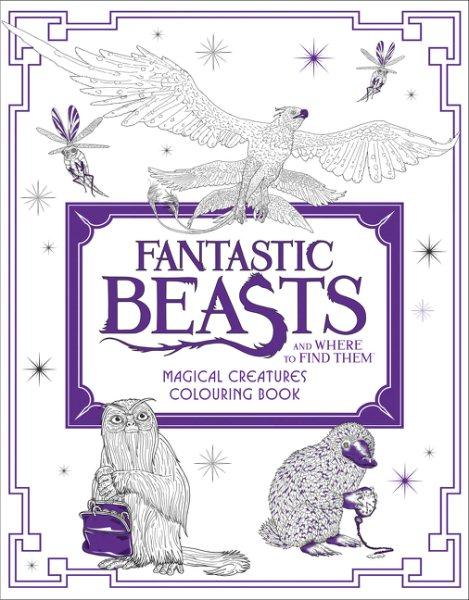 Fantastic Beasts Magic Creatures Colour