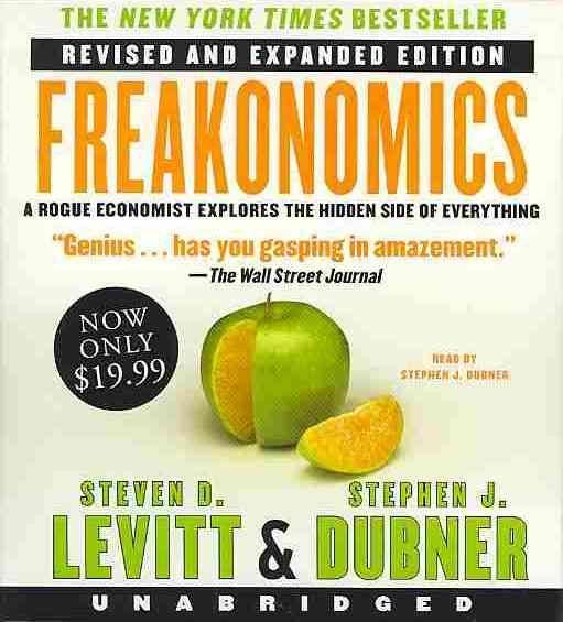 Freakonomics(有聲CD)