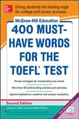McGraw-Hill's 400 Must-Have Words for the Toefl