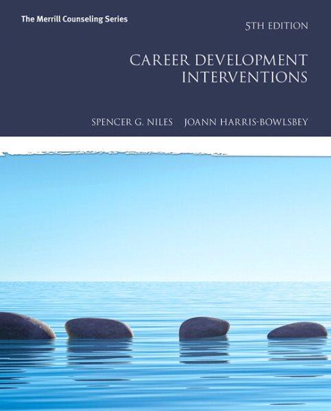 Career development interventions /