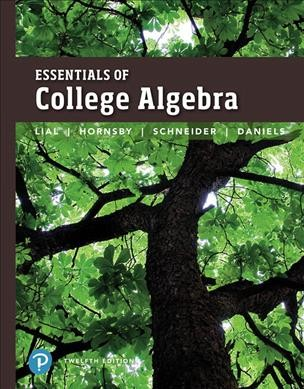 Essentials of College Algebra + Mymathlab With Pearson Etext