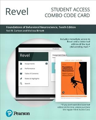 Revel for Foundations of Behavioral Neuroscience Access Card