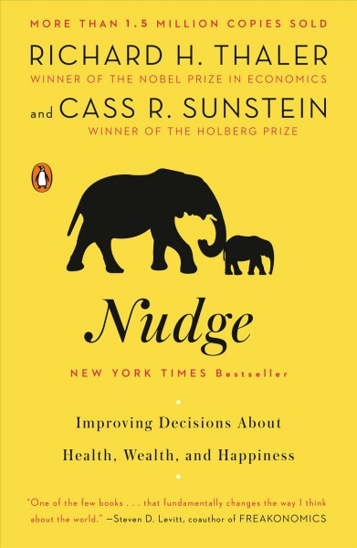 Nudge  推力-決定你的健康、財富與快樂