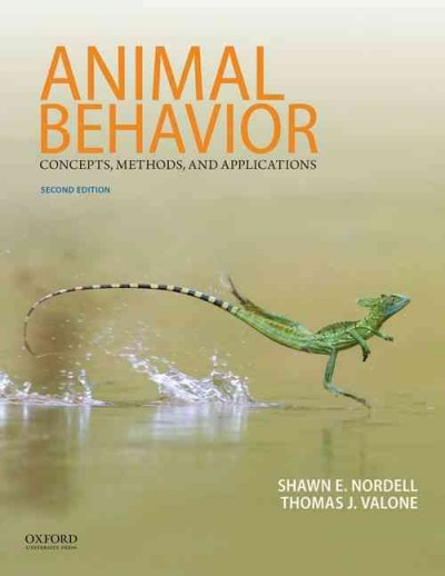 Animal behavior : concepts, methods, and applications