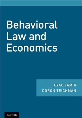 Behavioral law and economics /